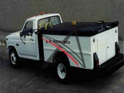 Water Service Truck